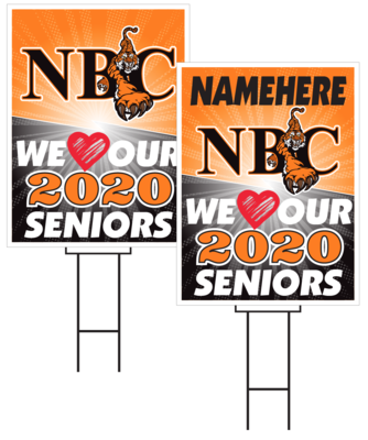 North Bend Central Senior Sign
