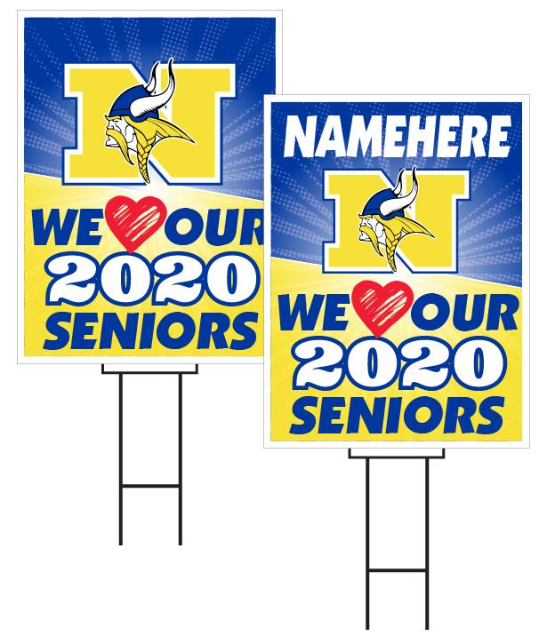 Omaha North Senior Sign