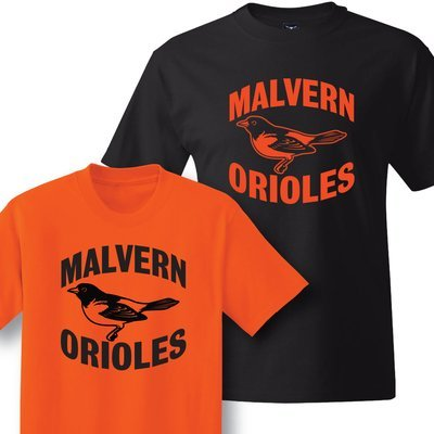 Retro Malvern Oriole Apparel
