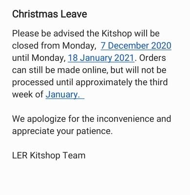 Christmas Leave