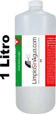 Limpio Sin Agua de uso personal |1 Litro Refill.