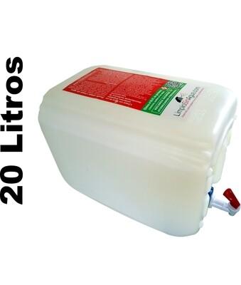 Limpio Sin Agua de uso personal |Porrón de 20 Litros Refill.