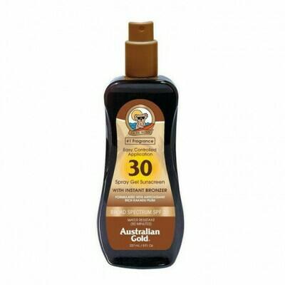 SPF30 Spray Gel Sunscreen BRONZER 237 ml