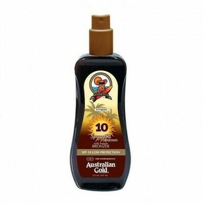 SPF10 Spray Gel Sunscreen BRONZER 237 ml
