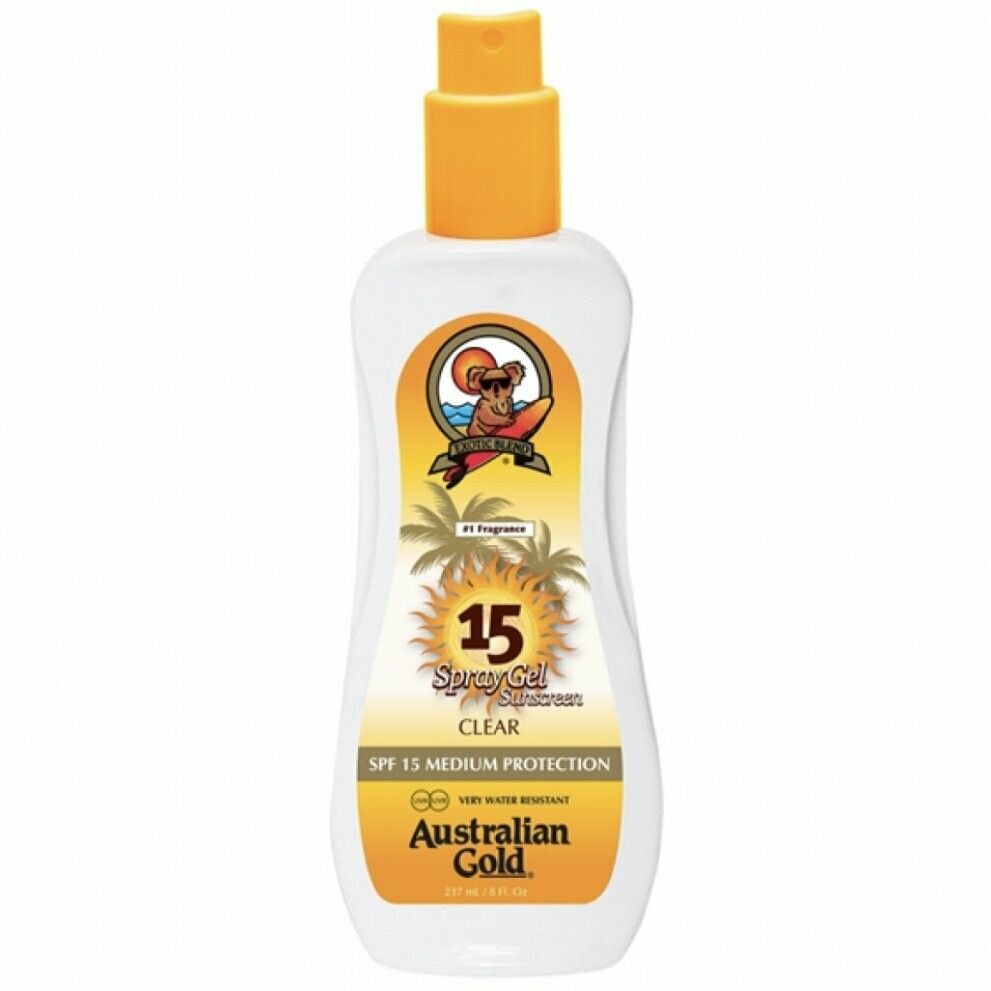 AUSTRALIAN GOLD – SPF 15 SPRAY GEL 237 ML
