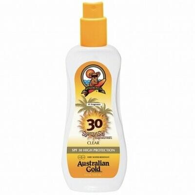 AUSTRALIAN GOLD – SPF 30 SPRAY GEL 237 ML