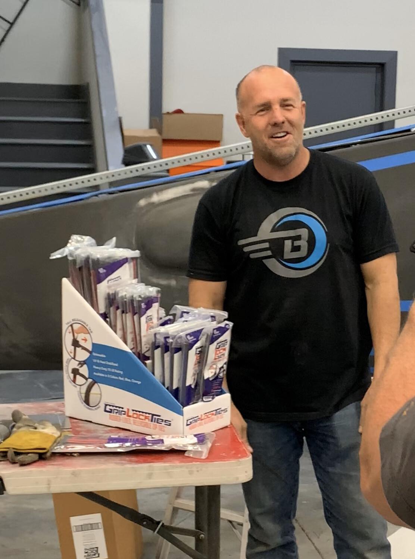 Counter Display Loaded 24 Bags Of GripLockTies. As Seen On Mike Patey Scrappy video.