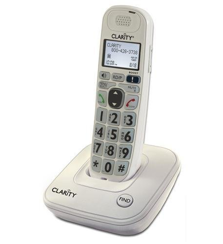 Clarity D704 53704.000 40dB Amplified Cordless