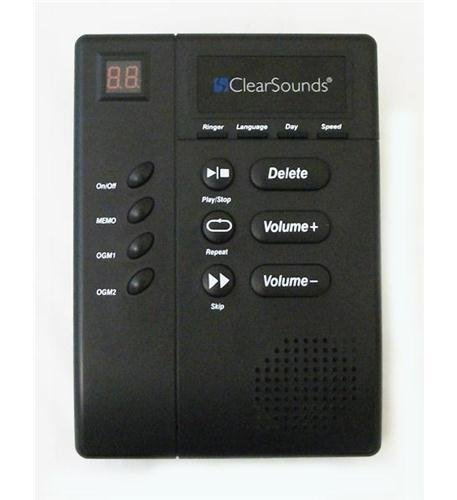 Clear Sound ANS3000 Digital Amplified Answering Machine