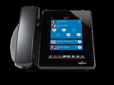Digium D80 Touchscreen IP Phone
