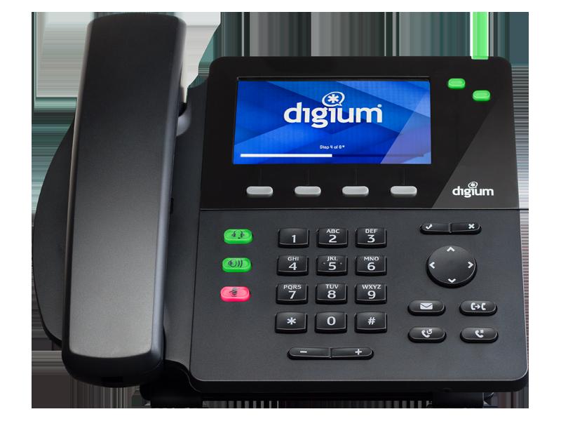 Digium D62 Phone (w/o power supply)
