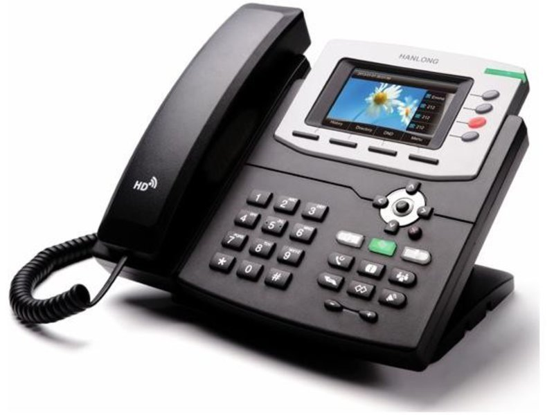 HTek UC842 Color IP Telephone POE