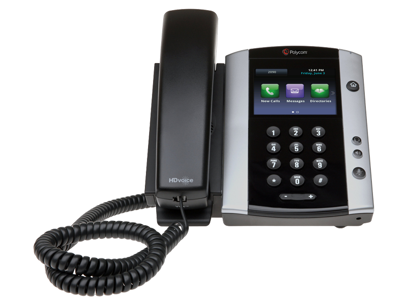 Polycom VVX 501 with Power Supply
