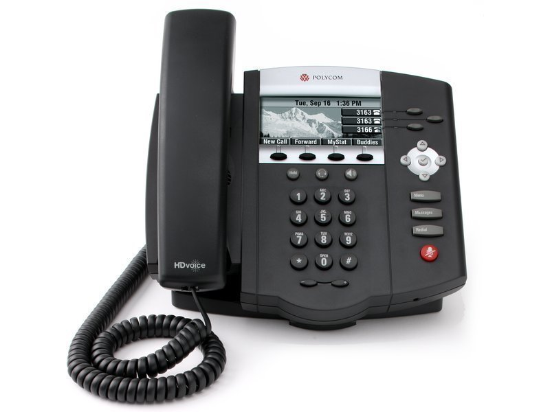 Polycom IP 450 (No AC adapter)