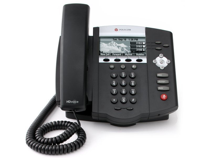 Polycom IP 450 w/ AC Adapter