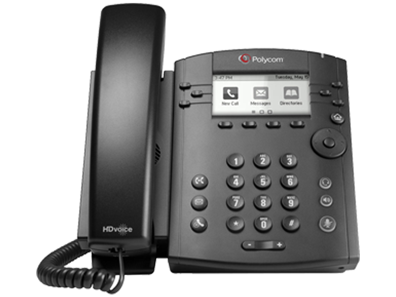 Polycom VVX 311 with Power Supply