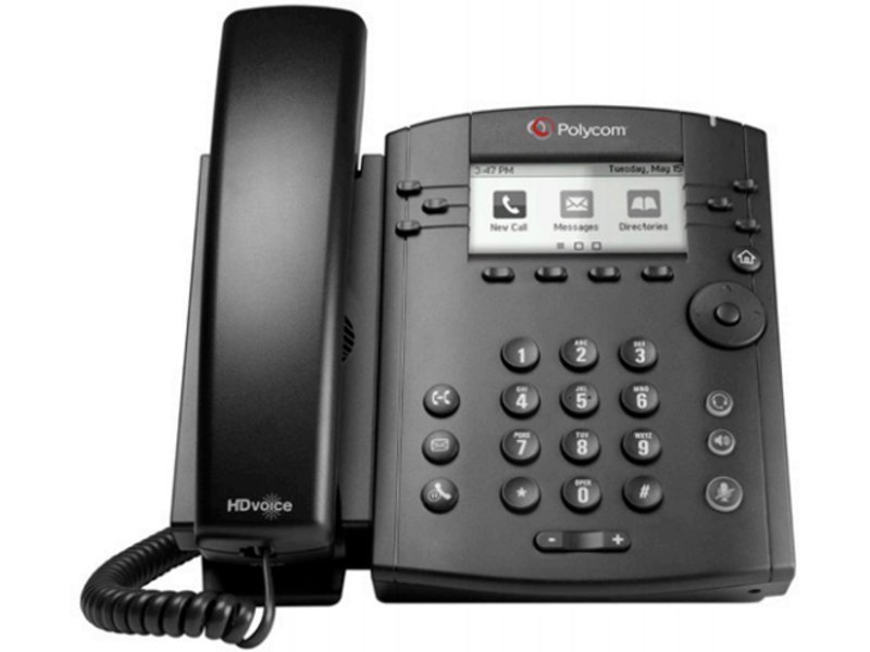 Polycom VVX 310 with Power Supply