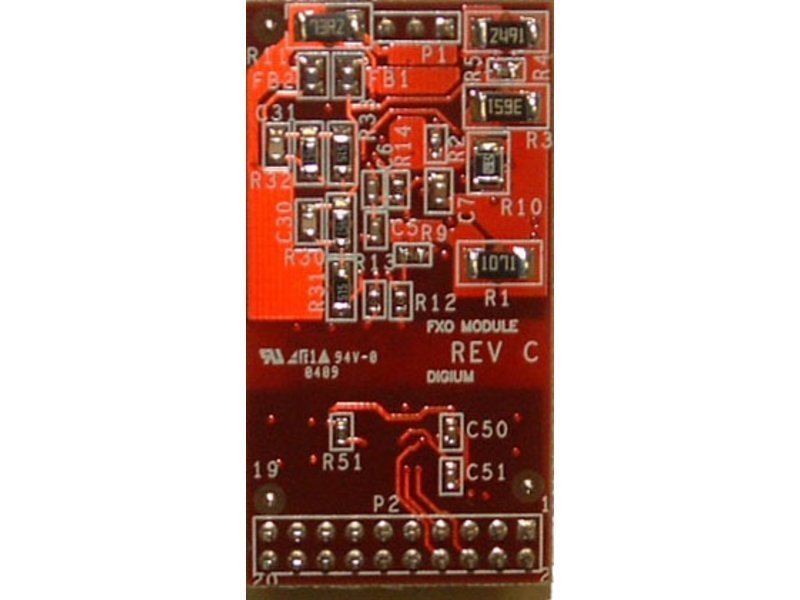 Digium X100M FXO Module