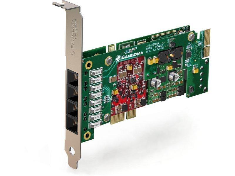 Sangoma A200DE Analog Series w/ Echo Cancellation - PCI Express