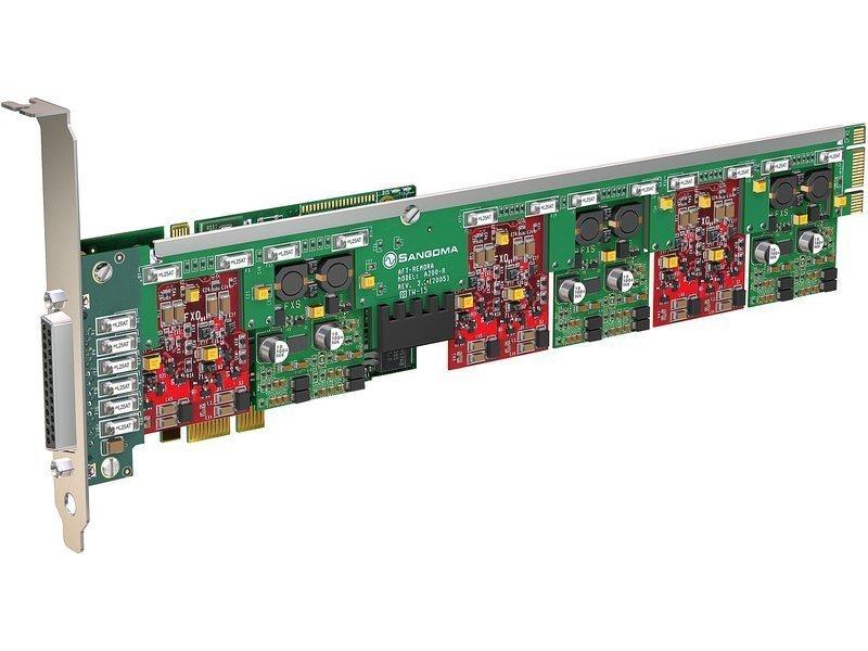 Sangoma A400DE Analog Series w/ Echo Cancellation - PCI Express