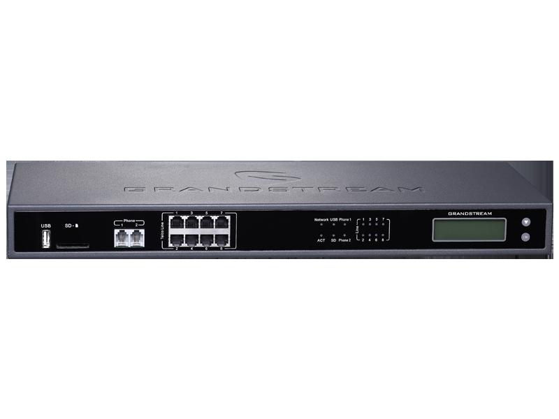 Grandstream UCM6208 IP PBX 8FXO, 2FXS Appliance