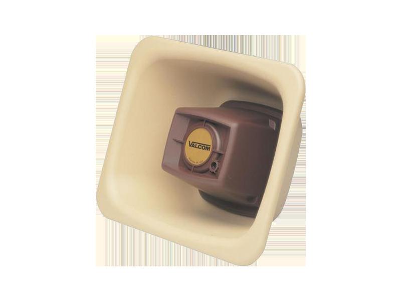 Valcom IP FlexHorn, Beige - One Way