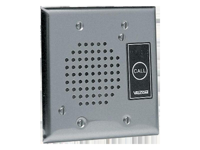 Valcom VIP-172AL-ST IP Intercom, Brushed Stainless - Talkback