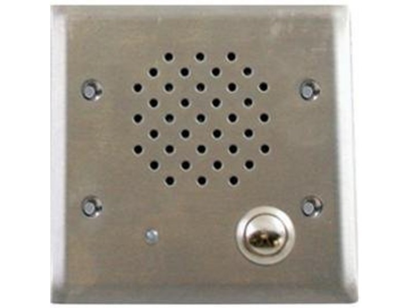 Valcom VIP-172AL-VRSS IP Vandal-Resistant Intercom, Stainless. Talkback