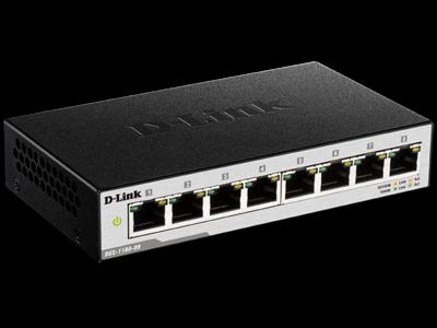D-Link DGS-1100-08 EasySmart 8-Port Gigabit Switch