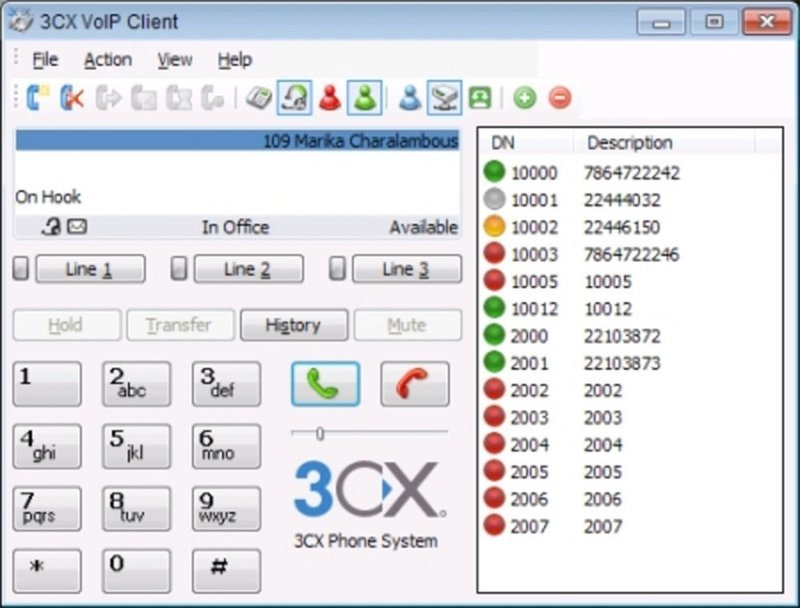 3CX Phone System 4 Simultaneous Calls