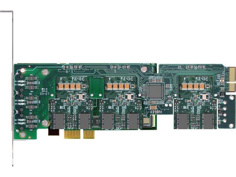 Sangoma A500 2-24 Port Scalable S/T BRI. PCI Express