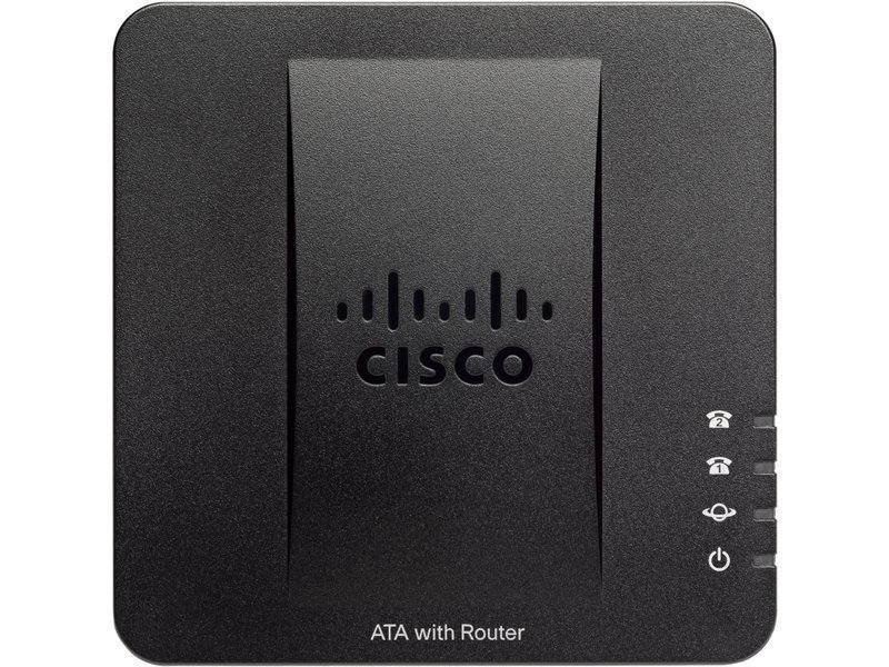 Cisco SPA122 Analog Telephone Adapter with Router