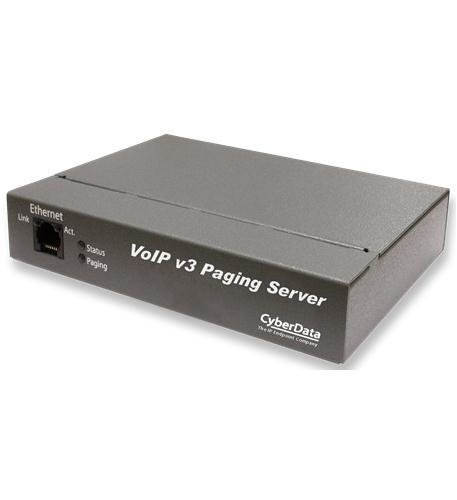 CyberData 011146 VoIP V3 Paging Server