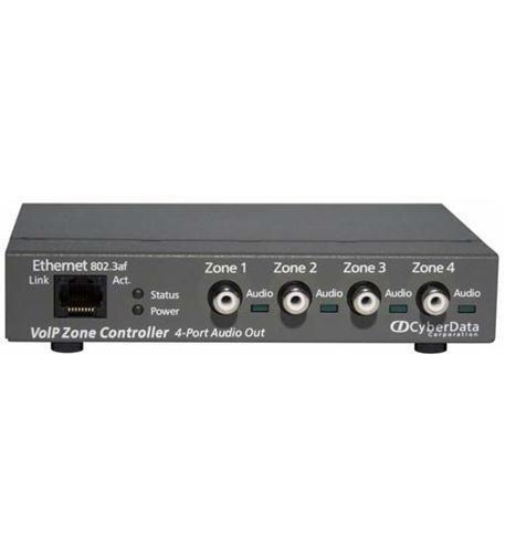CyberData 011171 VoIP 4-Port Zone Controller