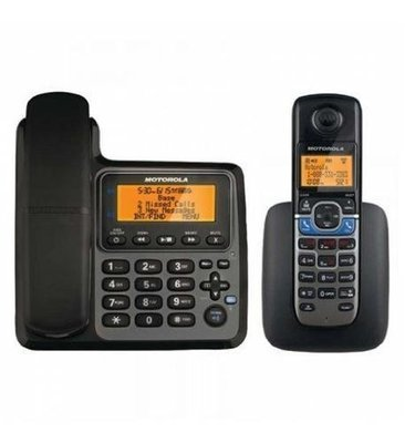 Binatone/Motorola L702CBT Corded/Cordless 2 Handsets