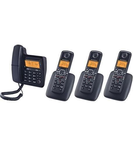 Binatone/Motorola L704C Motorola Corded/Cordless 4-pack