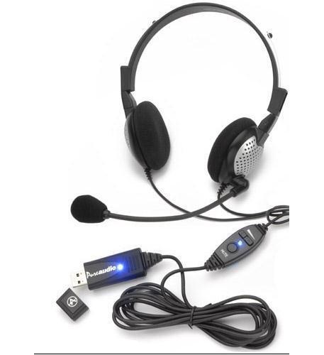 Andrea Communications NC185VMUSB High Quality Digital Stereo USB Headset