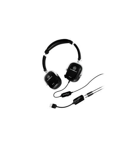 Andrea Communications SB-405B Black Both Ear Headset with Mics
