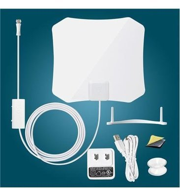 Antop 132B Paper Thin TV Antenna With Smart Pass