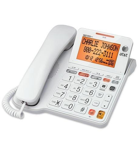 AT&T CL4940 Corded Answering System with Large Display