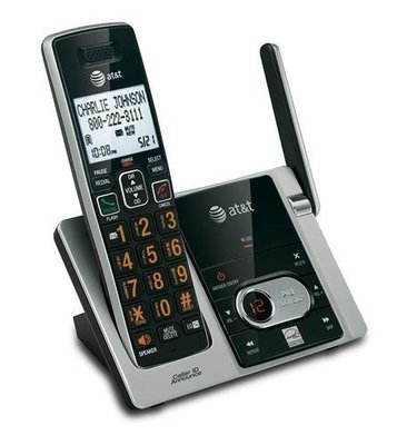 AT&T CL82413 4 Handset Answering System CID