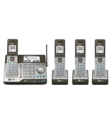 AT&T CLP99486 4 Handset System with Answering
