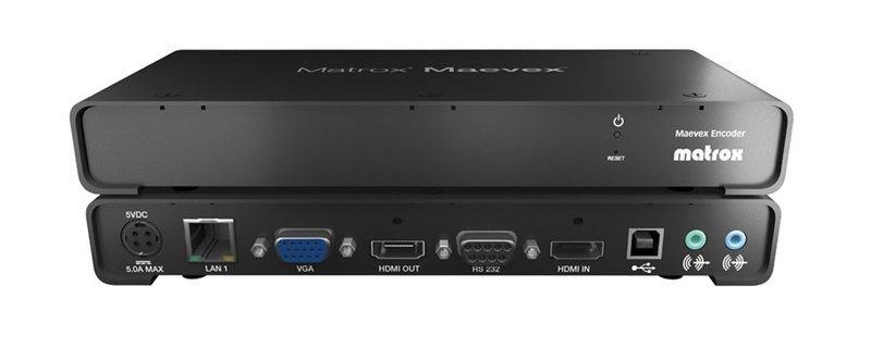Matrox MVX-E5150F Maevex H.264 Encoder