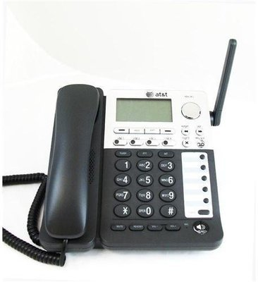 AT&T SB67148 SynJ 4-lineCordless/Corded Deskset