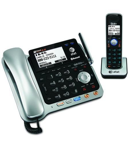 AT&T TL86109 2-line Corded/Cordless with ITAD
