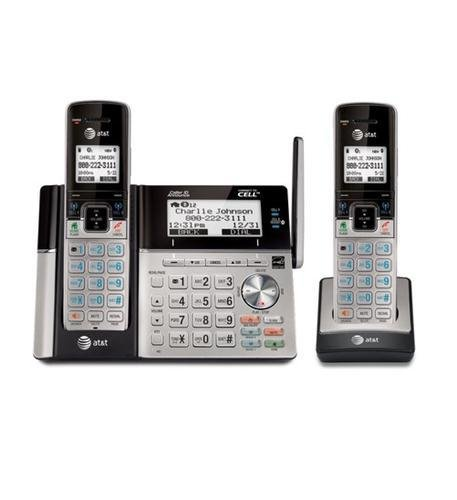 AT&T TL96273 2 Handset Connect to Cell with Answering