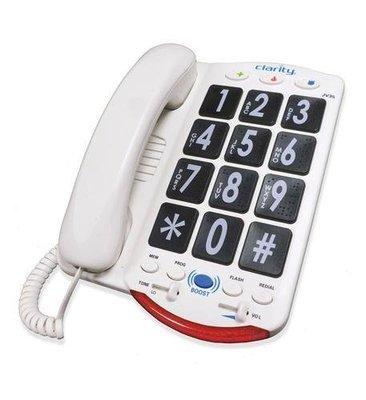 Clarity JV35 76560.001 50dB Phone Large Black Keys