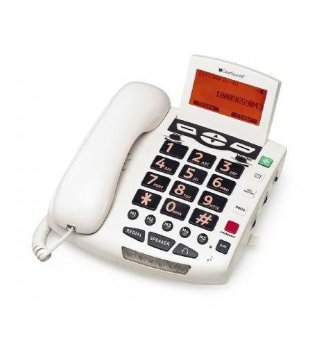 Clear Sound WCSC600 Amplified Big Button Speaker Phone 50dB White