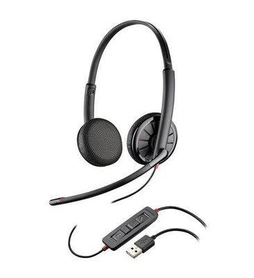 Plantronics 204446-101 Blackwire C325.1-M Stereo Headset