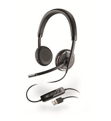 Plantronics 88861-01 Blackwire C520 USB Binaural Headset